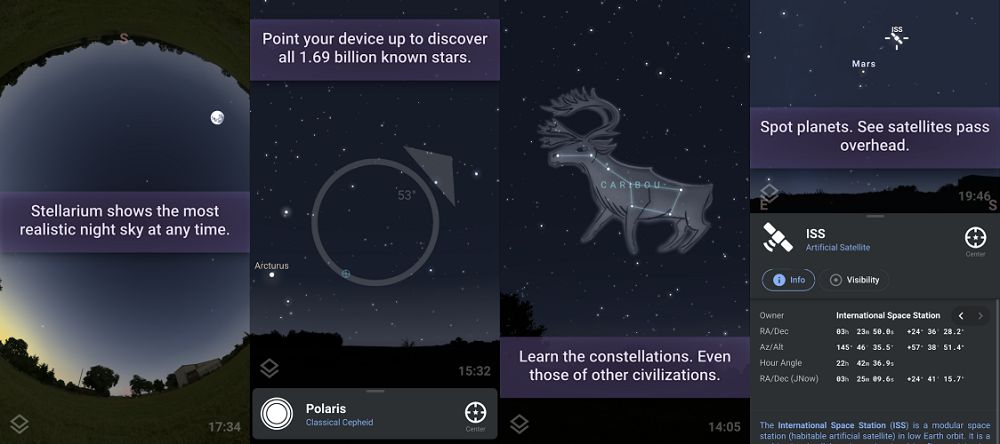 Stellarium Mobile Plus- Star Map features