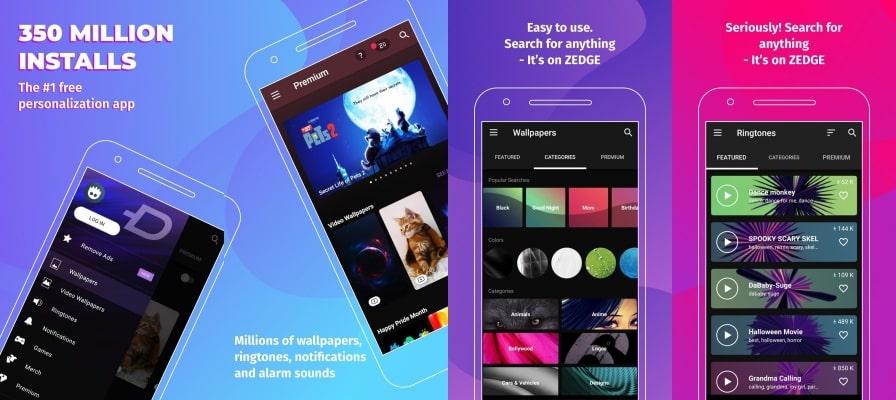 ZEDGE Premium Features
