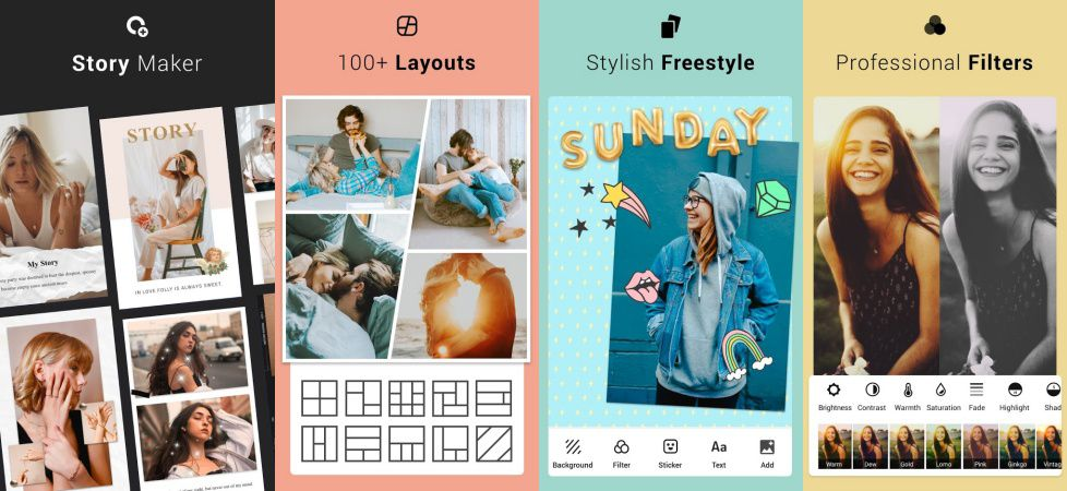 Collage Maker features