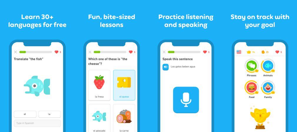 Duolingo features