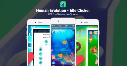 Human Evolution Clicker