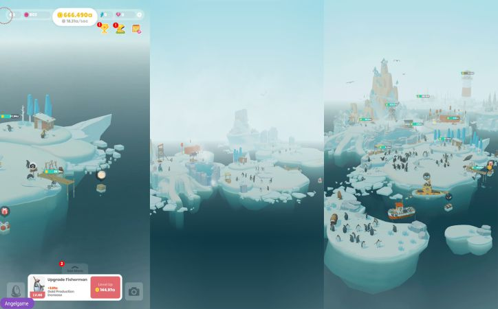 Penguin Isle gameplay