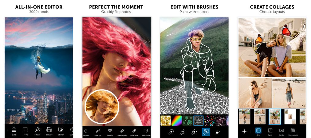 PicsArt Photo Editor features
