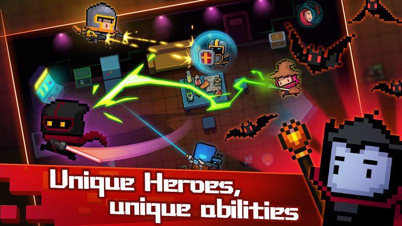 Soul Knight MOD Heroes unlocked