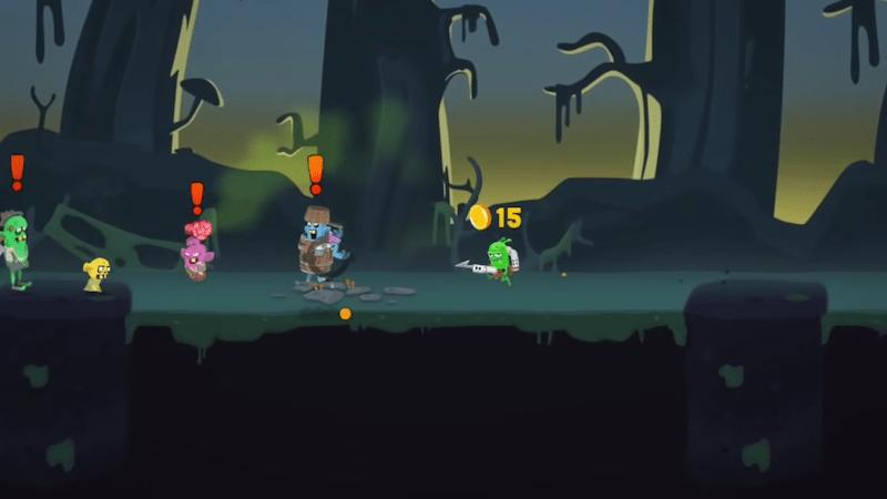 Zombie Catchers gameplay