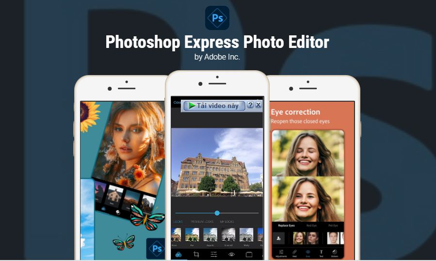 Adobe Photoshop Express story