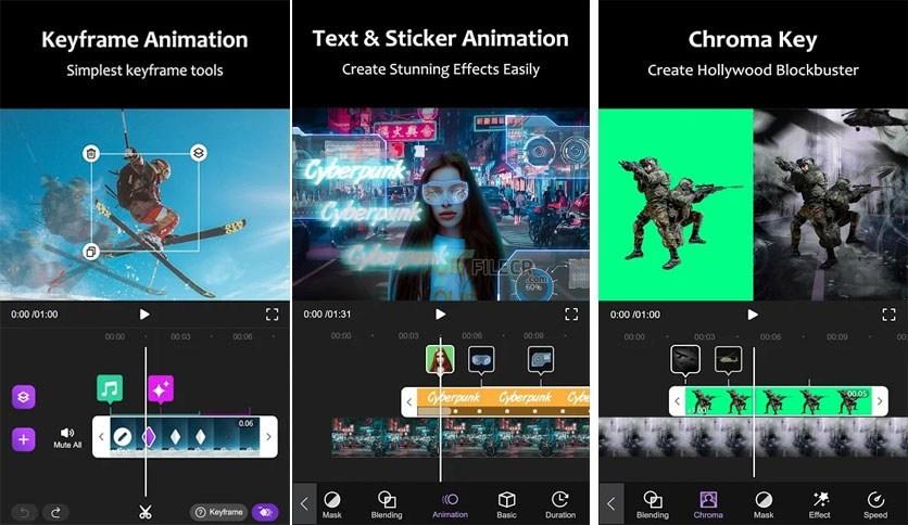 Motion Ninja PRO features