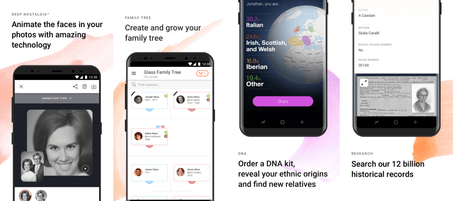 MyHeritage features