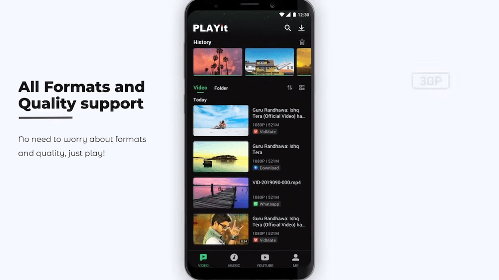 PLAYit support