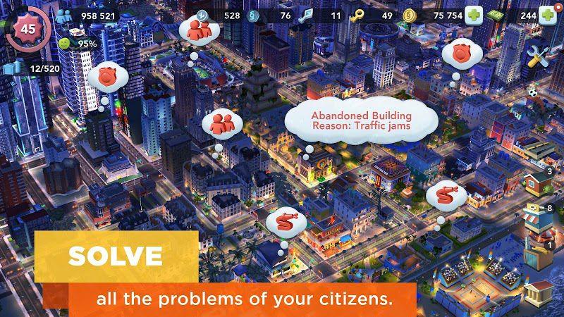 SimCity BuildIt citizen