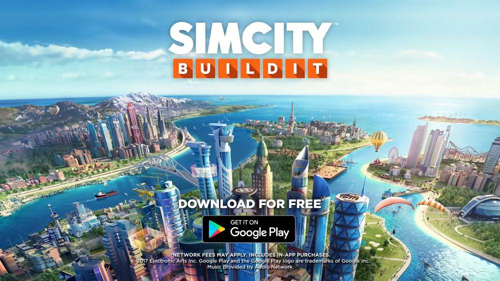 SimCity BuildIt mod apk download