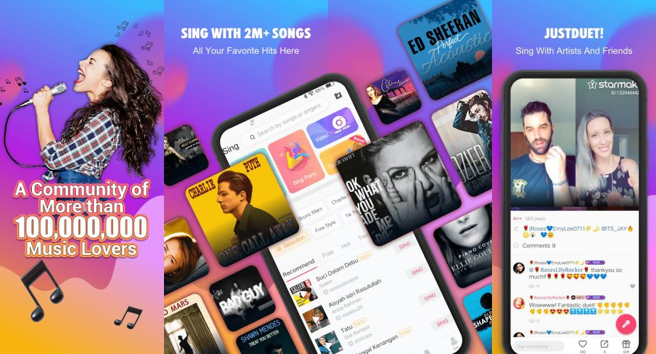 Starmaker features