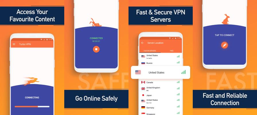 Turbo VPN features