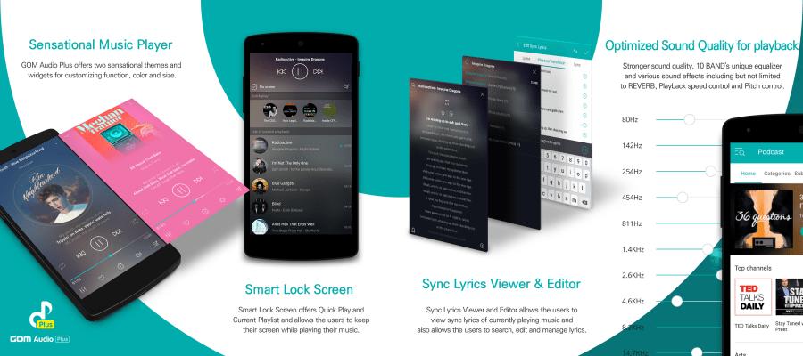 GOM Audio Plus features