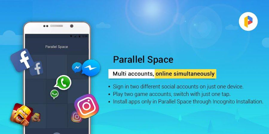 Parallel Space PRO for Android