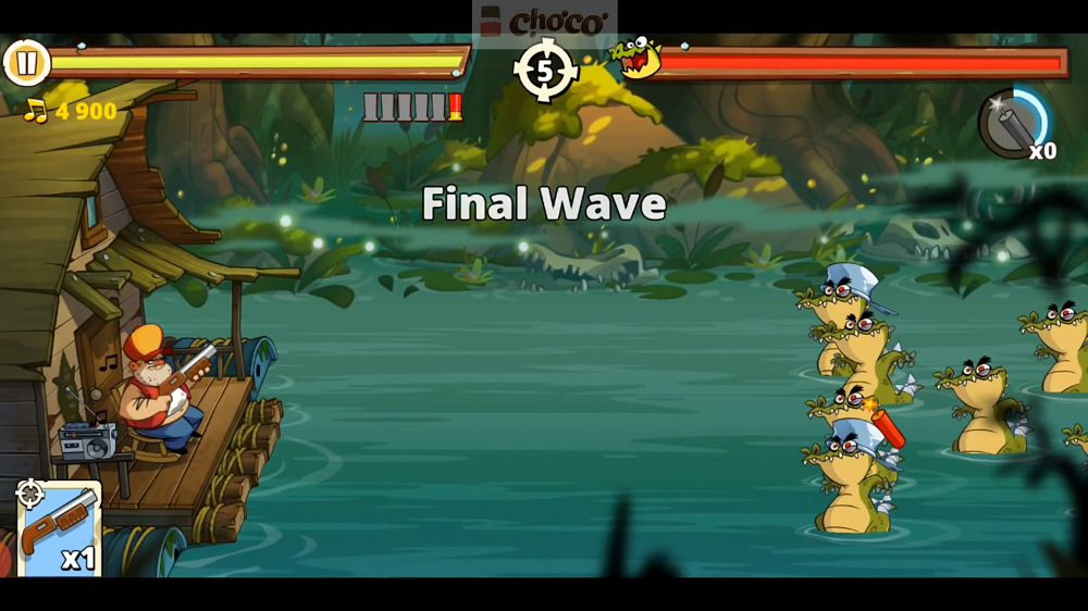 Swamp Attack 2 gameplay