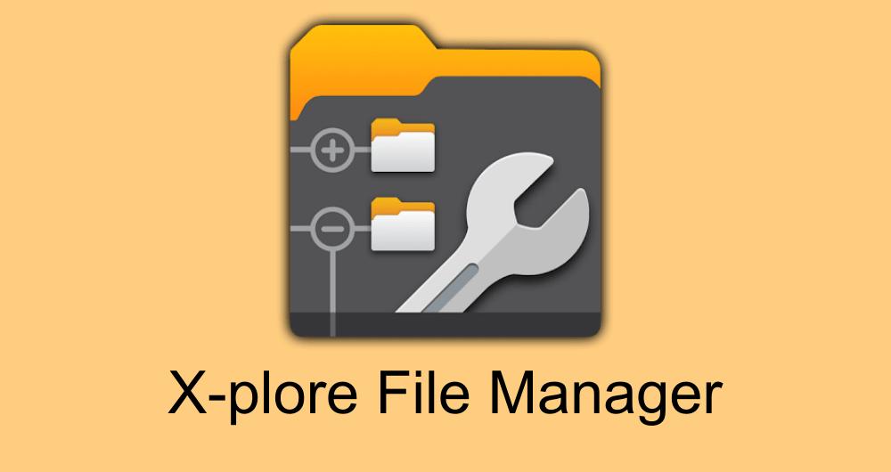 X-plore File Manager premium apk
