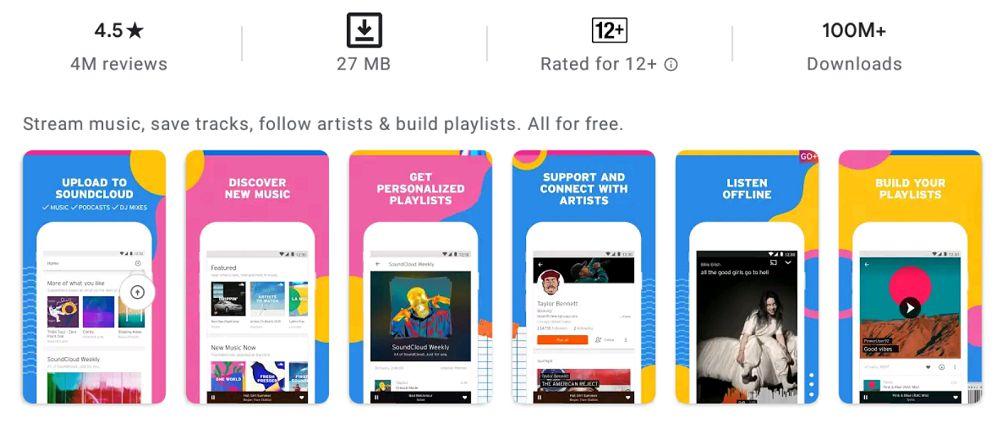 SoundCloud features