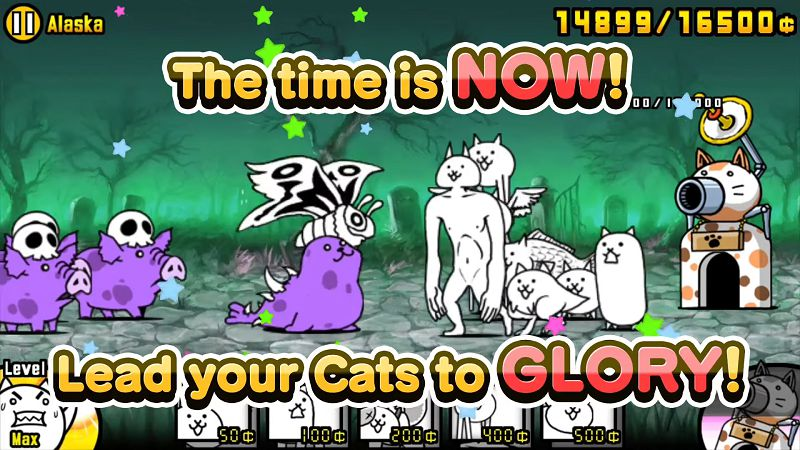 The Battle Cats-gameplay