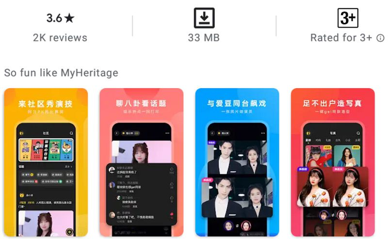 Avatarify Face Swap-features