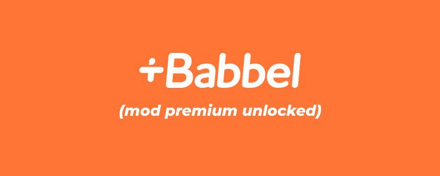 Babbel-mod-apk-premium