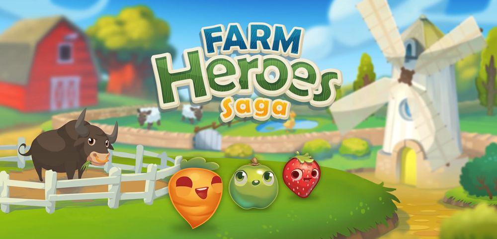 Farm Heroes Saga-mod-apk