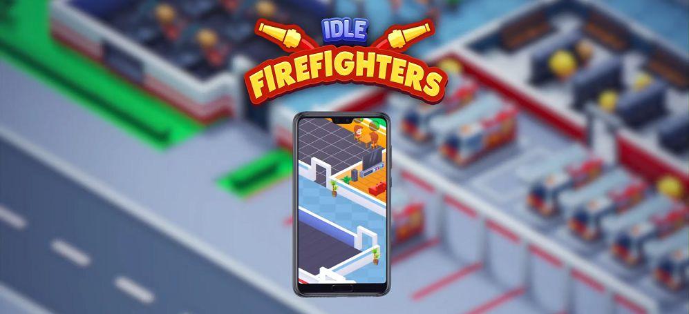 Idle Firefighter Tycoon-mod-apk