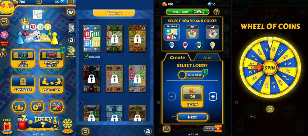 Ludo King-game-interface