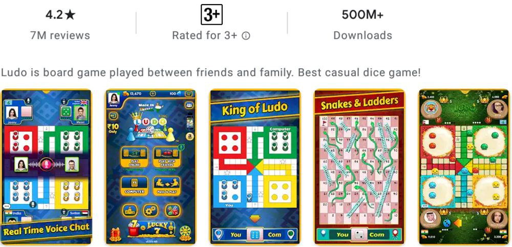Ludo King-mod-features