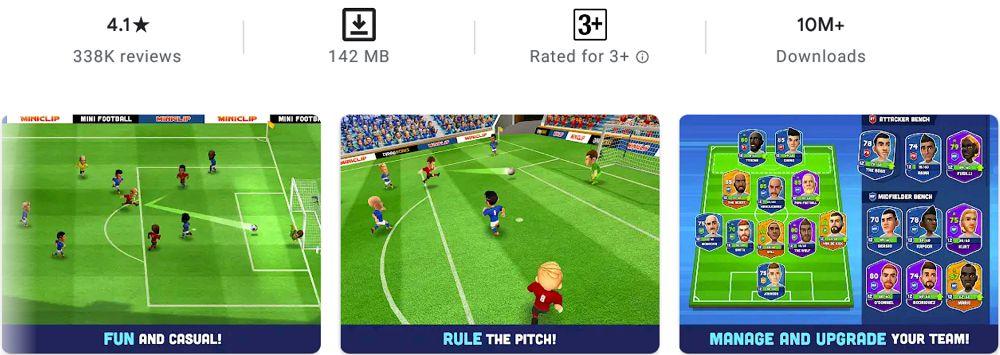 Mini Football-features