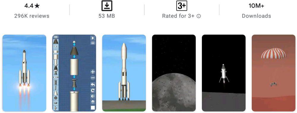 Spaceflight Simulator-features