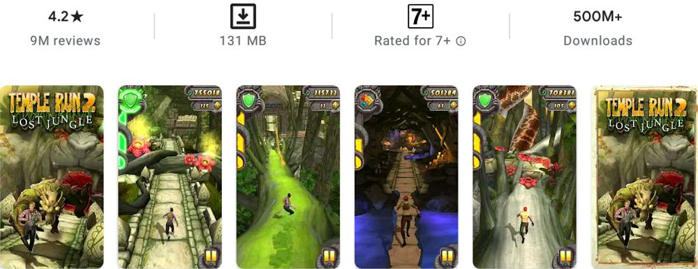 Temple Run 2-features