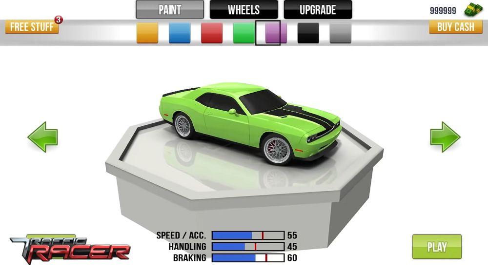 Traffic Racer-car-unlocked