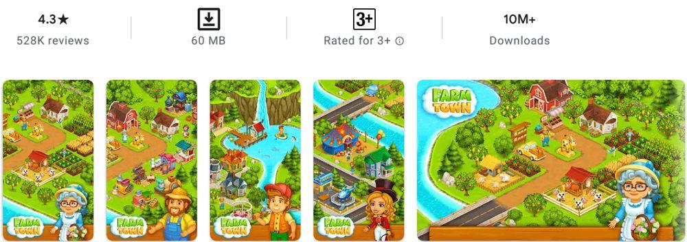 Farm Town-features