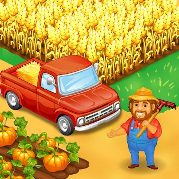 Farm Town: Happy farming Day & food farm game City