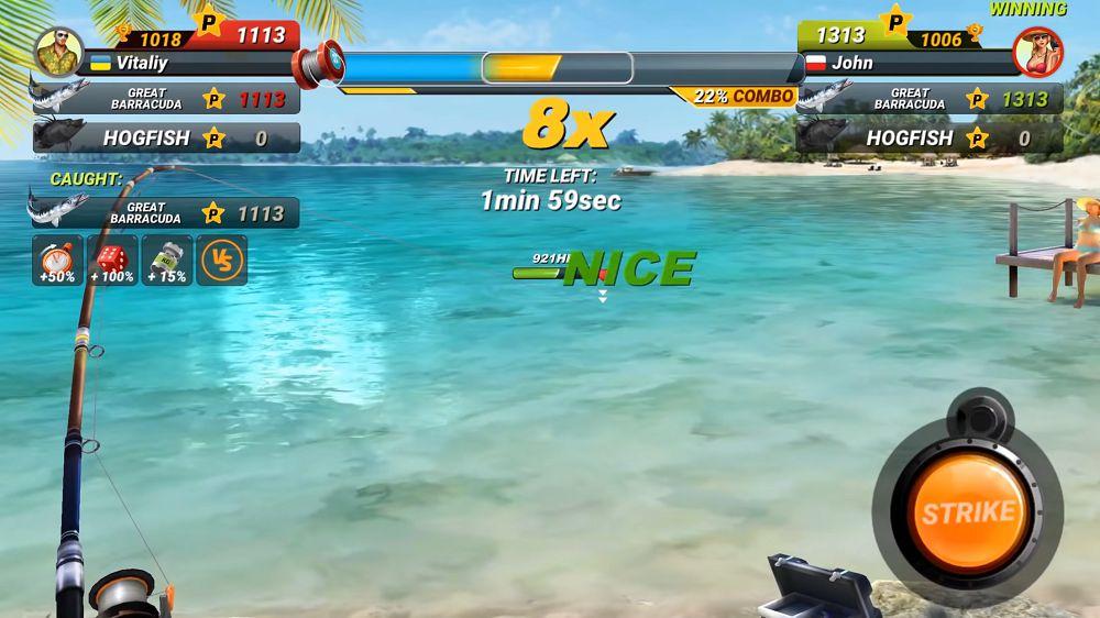 Fishing Clash-mod-gameplay