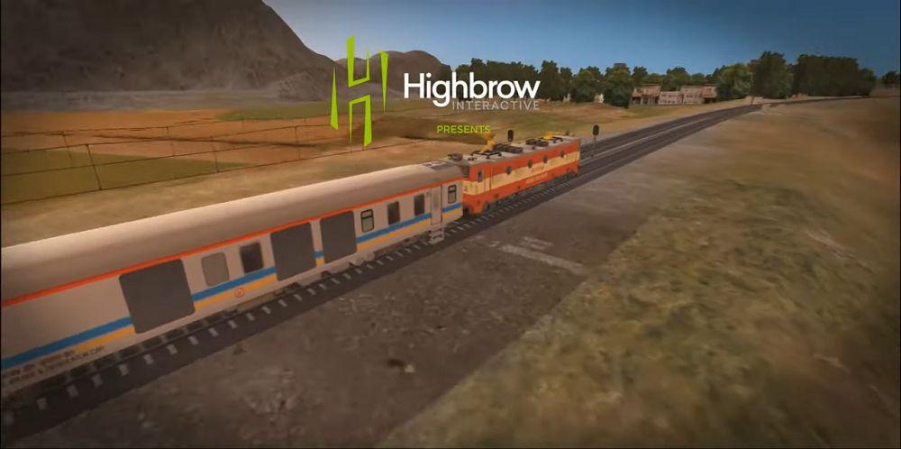 Indian Train Simulator gameplay