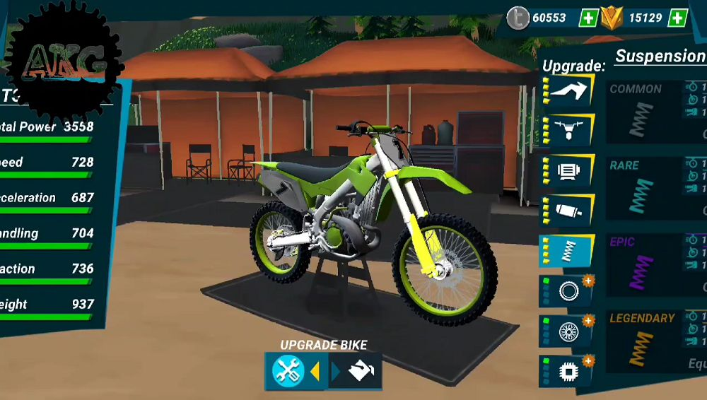 Mad Skills Motocross 3 upgrade