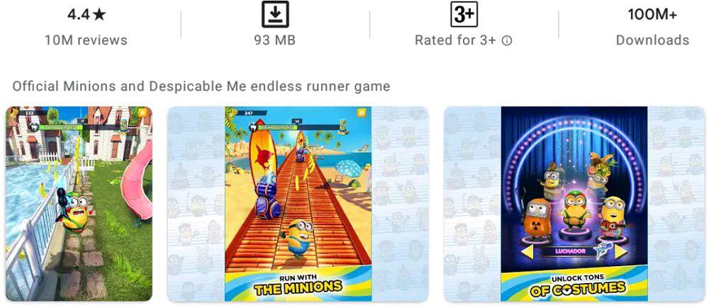 Minion Rush-gameplay