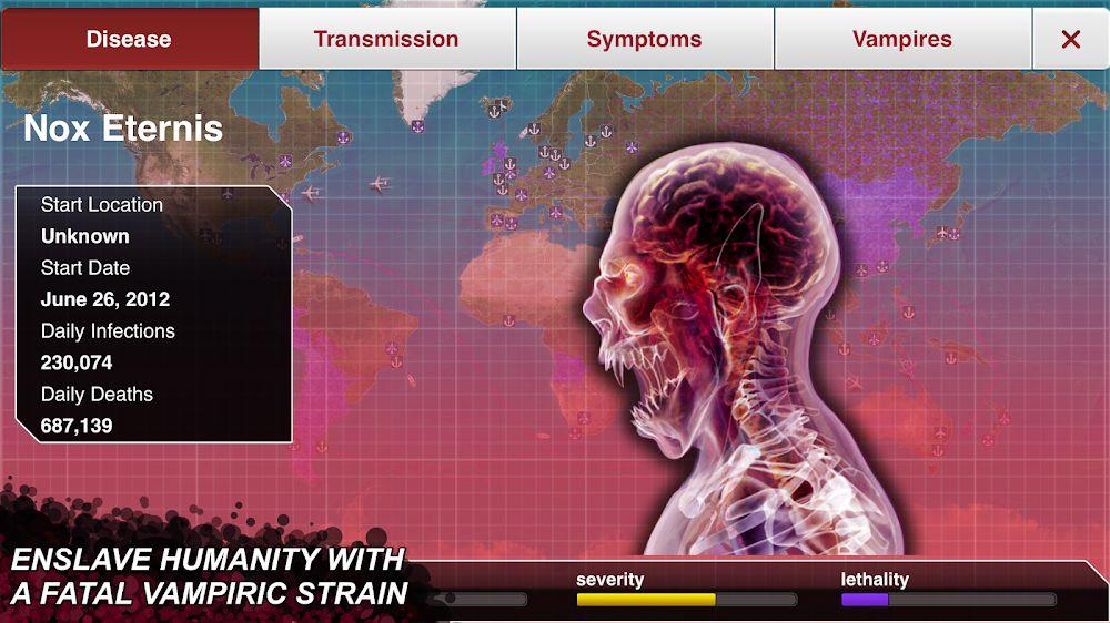Plague Inc features