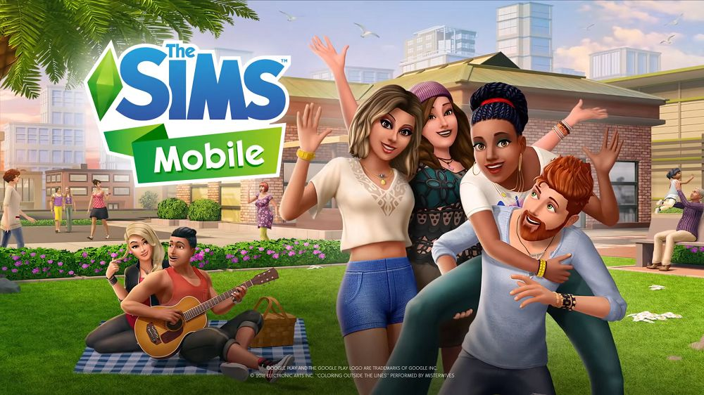 The Sims Mobile mod apk download