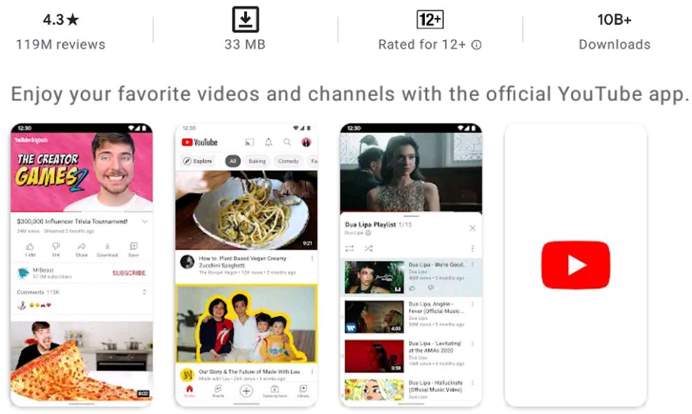 Youtube-app-features