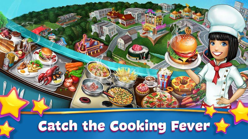 Cooking Fever-features