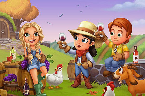 FarmVille 2 characters