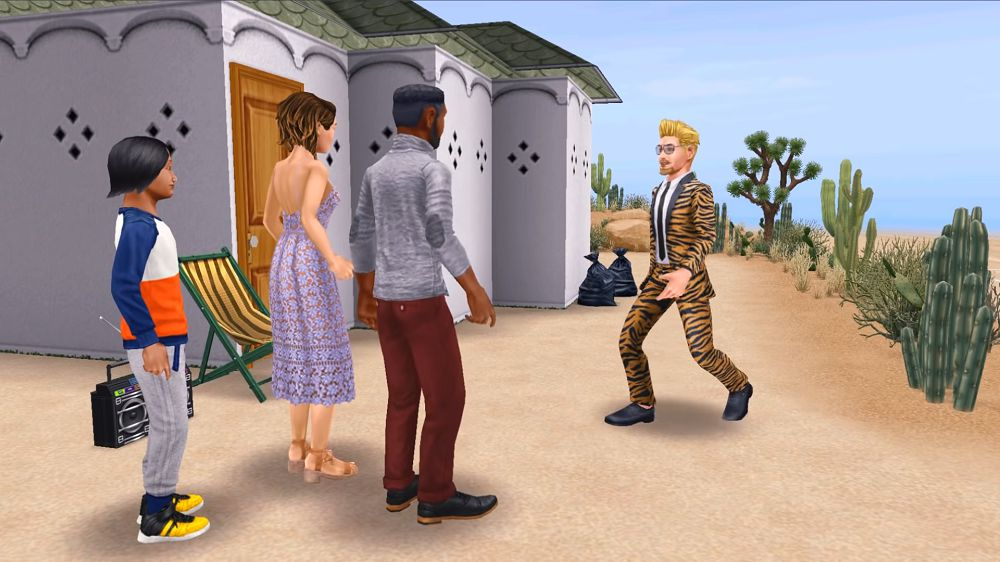 The Sims Freeplay gameplay