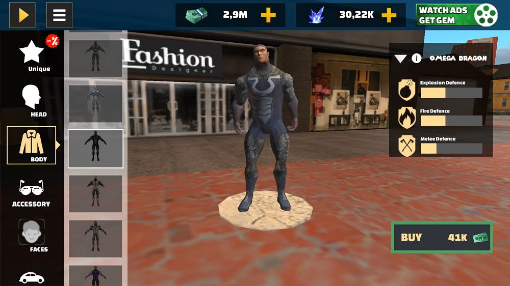Rope Hero Vice Town _features