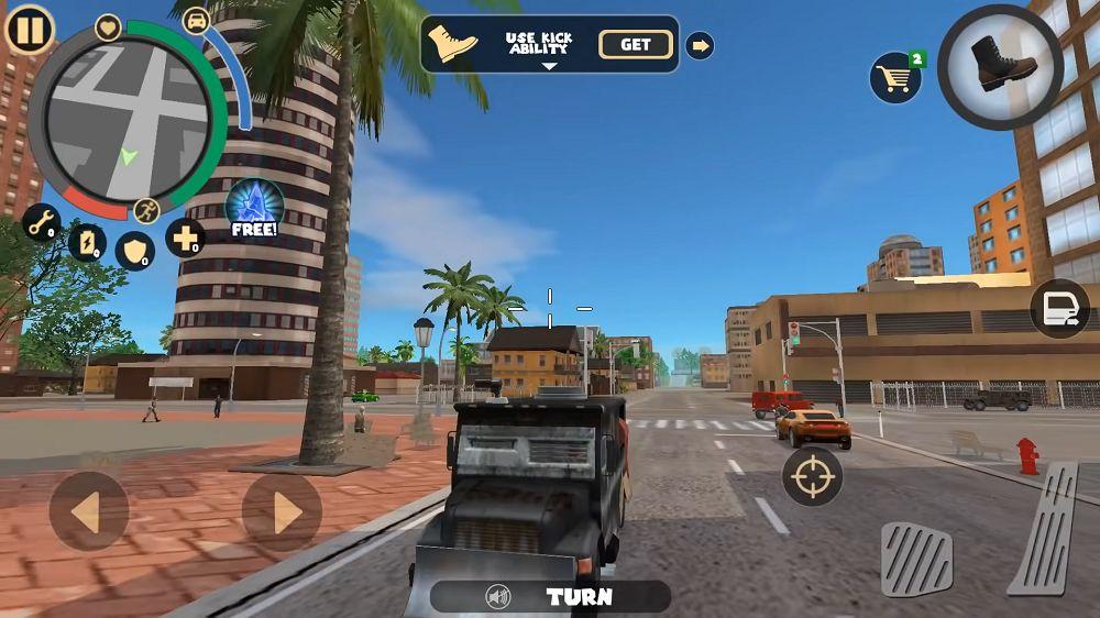 Rope Hero Vice Town _gameplay